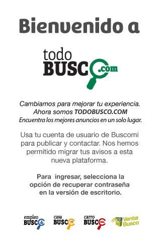 modal bienvenida TodoBusco